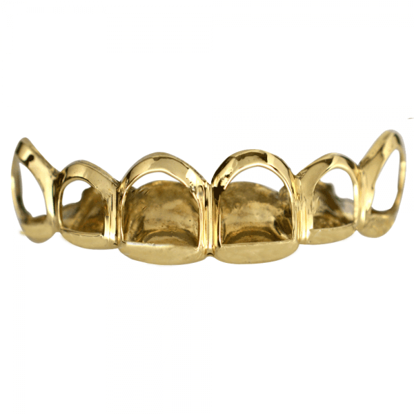 Gold Open Face Top Grill