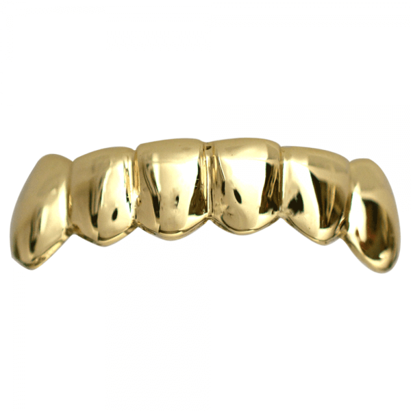 Gold Solid Bottom Grill