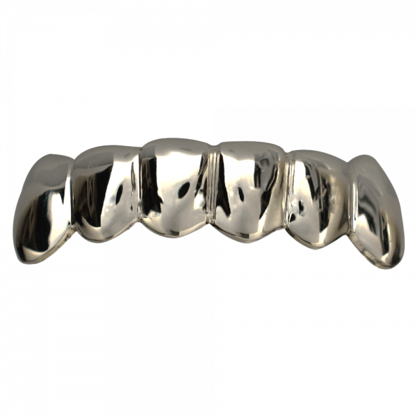 Silver Solid Bottom Grill