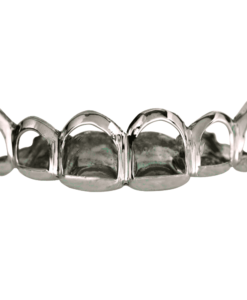 Silver Open Face Top Grill