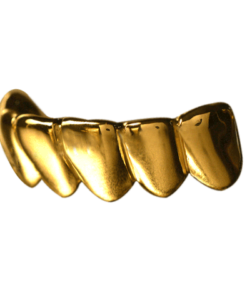 Gold Solid Deep Cuts Bottom Grill